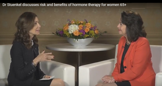 Hormone therapy for women aged 65 years and older