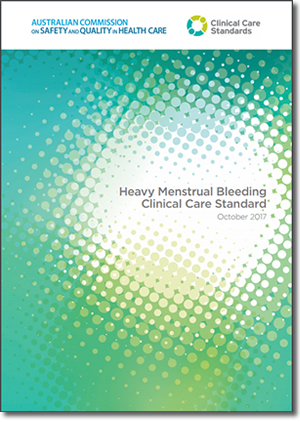 Heavy Menstrual Bleeding Clinical Care Standard