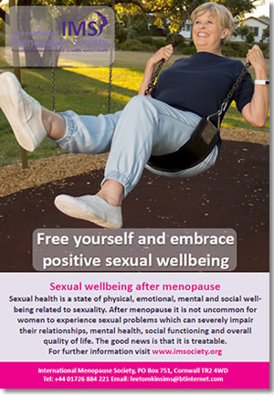 Sexual wellbeing after menopause booklet