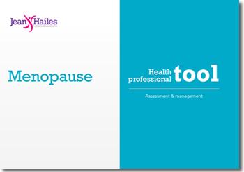 Menopause health professional tool