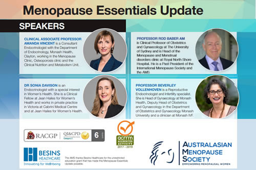 Menopause Essentials Update